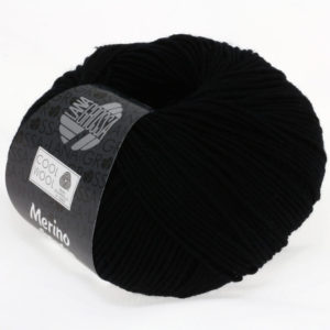 Lana Grossa Cool Wool 433 чорний