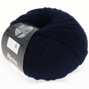 Lana Grossa Cool Wool 414 темно-синій