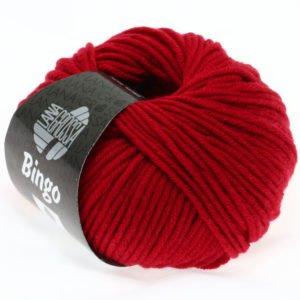 Lana Grossa Bingo 44 вишнево-червоний