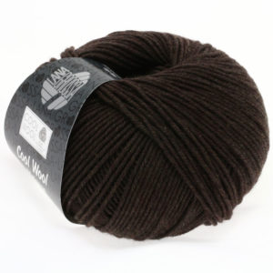 Lana Grossa Cool Wool 123 мокко меланжевий