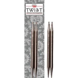Зйомні вкорочені спиці ChiaoGoo Twist Lace 10 см