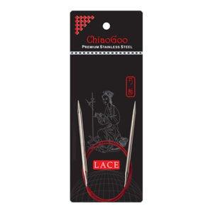 Металеві кругові спиці ChiaoGoo Red Lace 40 см
