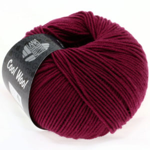 Lana Grossa Cool Wool 2012 бордовий