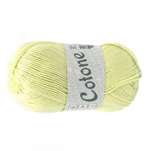 Lana Grossa Cotone 44 світло-зелений