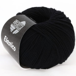 Lana Grossa Elastico 24 чорний