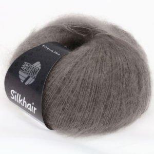 Lana Grossa Silkhair 35 темно-бежевий